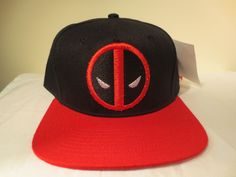0bd80b22703 Deadpool Hat Cap Snapback Marvel Comics Costume Cosplay Comics Hat  Deadpool   BaseballCap