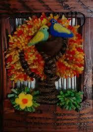 Imagen relacionada Tapestry Weaving, Halloween, Painting, Garden, Rug Loom, Loom Knitting Patterns, Loom Beading, Nail String Art, Knitting Designs