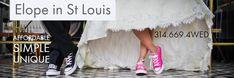 Elope in St Louis : Affordable, Simple, Unique St Louis, Saints, Couples, Simple, Unique, Fun, Wedding, Valentines Day Weddings, Couple
