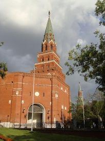 Боровицкая башня Кремля