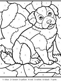 color by numbers for adults coloring sheets coloring pages printable and coloring book to print for free. Find more coloring pages online for kids and adults of color by numbers for adults coloring sheets coloring pages to print. Hello Kitty Colouring Pages, Dog Coloring Page, Animal Coloring Pages, Coloring Pages For Kids, Coloring Books, Kids Colouring, Fairy Coloring, Kindergarten Coloring Pages, Kindergarten Colors