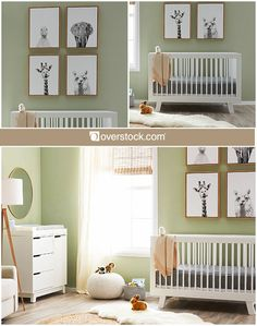 If you've decided you want your baby's gender to be a surprise but still want to have the nursery ready and decorated, going gender neutral is an easy solution. A gender-neutral style is also perfect for establishing a long-term nursery that can be used for both infant boys and girls. Gentle colors like white and beige are perfect for baby furniture, especially when paired with a soft green or other gender-neutral color on the walls. Keep your nursery cozy with throw pillows and blankets, a…