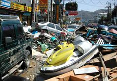 This photo of Phuket, Thailand was taken moments after the Indian Ocean Tsunami ravaged Southern Asia on December 26, 2004.