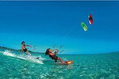 Kids #kite #surfing