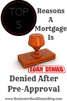 A pre-approval on a mortgage DOES NOT guarantee you'll get bank financing to buy your new home :-/