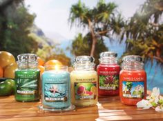 New summer fragrances in Yankee candles available at Silver Lady