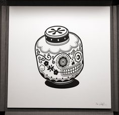 Jonathan Koshi Calavera3 http://www.geek-art.net/jonathan-koshi-calavera-pop-art/