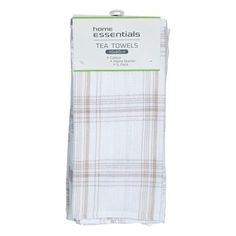 Check out home essentials kitchen manchester cotton tea towel set 5pk at woolworths.com.au. Order 24/7 at our online supermarket