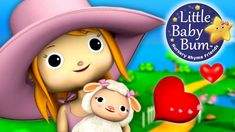 Mary Had A Little Lamb | Nursery Rhymes | By LittleBabyBum!