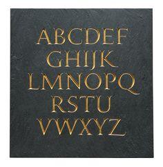Nick Benson - Slate Alphabet