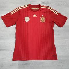 Camiseta Selección Española de Fútbol 2014 Adidas - Fútbol - Equipaciones  Oficiales - El Corte Inglés - Deportes  19e4f8c1011