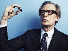 Sigh-y. It's Bill Nighy. (Photograph from Mr Porter) Drop dead Sexy.