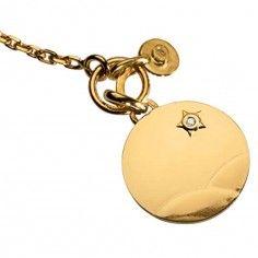 Bracelet Le Petit Prince dans le désert et breloque diamant (or jaune 750° et diamants) - La Monnaie de Paris