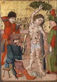 Unknown Artist - The Martyrdom of Saint Sebastian. 1470–1480