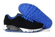http://www.nikekwazi.com/nike-air-max-90-vt-mens-black-blue.html NIKE AIR MAX 90 VT MENS BLACK BLUE Only $81.00 , Free Shipping!