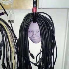 cables also can be a art if organized properly.
