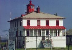 Point Lookout, Maryland. First lit in 1830, this lighthouse was subject to paranormal activity, perhaps due to the large number of deaths at a Civil War prison camp nearby. If you have lighthouse photos you would like to share, please email pelicanbaylights@aol.com.