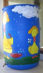 InterLinc: Artistic Rain Barrel Program About the Artist: Chris Boyd, Dont Be a Duck Out of Water