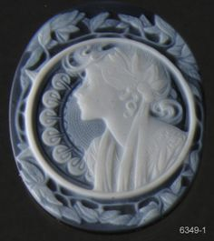 Young Woman Cameo 6349-1