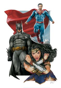 Justice League by Vigior on DeviantArt Superman Movies, Dc Movies, Batman Vs Superman, Dc Comics Superheroes, Dc Comics Art, Marvel Dc Comics, Marvel Fight, Comic Art Fans, Justice League Characters