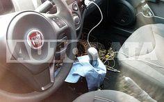 Flagra mostra que Fiat Uno terá câmbio Dualogic