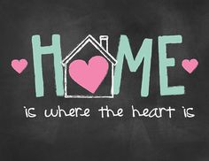Home Is Where Your Heart Is Printable