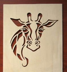Scroll saw Giraffe pattern Scroll Saw Patterns Free, Scroll Pattern, Metal Art, Wood Art, Stencil Patterns, Art Patterns, Wood Craft Patterns, Stencil Templates, Painting Patterns