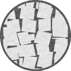 """Cubist"" round by NIBA Rug Collections #design #rug"
