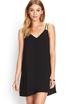 V-Neck Shift Dress | FOREVER21 - 2000062637