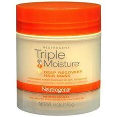 What Products are Best for Curly Hair?: Best Shine Serum: Neutrogena Triple Moisture Healing Shine Serum