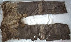 The world's oldest pair of pants, which were discovered in a cemetery in China, look like ones worn by Justin Bieber. Eurasian Steppe, Riding Pants, History Channel, Iron Age, Le Far West, Silk Road, Ancient Artifacts, Historical Artifacts, Central Asia