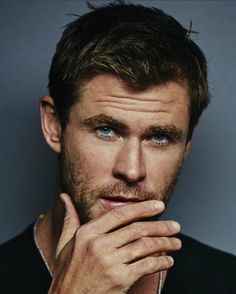 Handsome Chris Hemsworth.