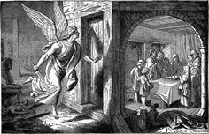 The Angel of Death and the First Passover O Anjo da Morte e a primeira páscoa