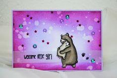 Mama Elephant | Bear Hugs LB Card Creations