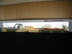 alle spoorbanen op ontrax 2014  HARBOR STREET YARD