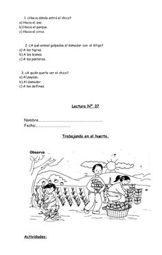 16835292 fichas-de-comprension-de-lectura