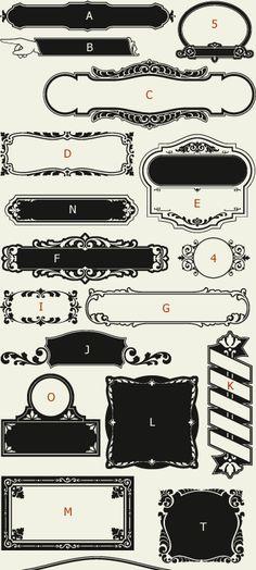 Letterhead Fonts / LHF Main Street Panels / Golden Era Studios