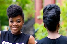Natural Hair Updo, Natural Hair Care, Natural Hair Styles, Au Natural, Natural Beauty, Pompadour, Two Strand Twist Hairstyles, Natural Hair Inspiration, Style Inspiration