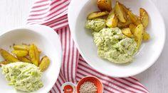 Rezept: Rosenkohlpüree mit Sesamkartoffeln