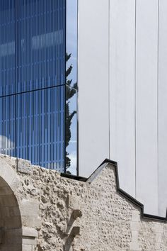 Louviers Music School Rehabilitation and Extension,© Luc Boegly