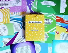 Be Motivated - Motivational Poetry Cards A Daily Positive Boost