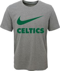 1f15d9c8d8c Nike Youth Boston Celtics Dri-FIT Legend Grey T-Shirt