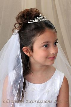 Irish Communion Tiaras | Christian Expressions Collection: First Communion Dresses & Veils