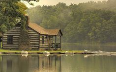 The Cabin, Lincoln State Park, Indiana, USA. This is my house. Best Places To Camp, Places To Go, Cabin Homes, Log Homes, Cabana, Cabins And Cottages, Log Cabins, Little Cabin, To Infinity And Beyond