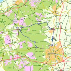 Fietsroute: Vanuit Vaassen over de Veluwe en Kroondomein Het Loo (http://www.route.nl/fietsroutes/153204/Vanuit-Vaassen-over-de-Veluwe-en-Kroondomein-Het-Loo---/)
