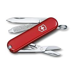 Victorinox Swiss Army Classic SD Pocket Knife, Cobalt Blue