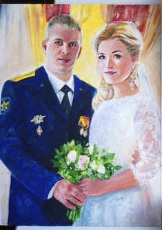 Wedding Art, Painting, Painting Art, Paintings, Painted Canvas, Drawings