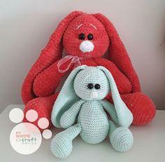 Leithygurumi: Marina Grigorevskaya -Pofidik Tavşan - Türkçe Tarif / Amigurumi Pofidik Bunny English Pattern