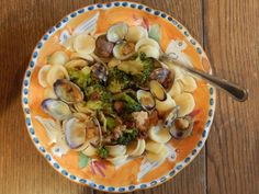 Orecchiette with Colatura Di Alici, Clams & Broccoli