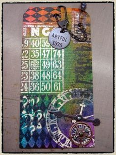 Tim Holtz July 2008 technique challenge